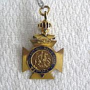 Knights Templar Type Pendant
