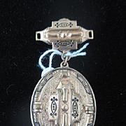 Vintage Revival Locket Brooch