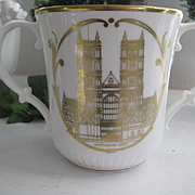 REDUCED: Royal Doulton Coronation 25th Anniversary Loving Cup