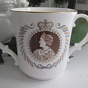 REDUCED: Royal Doulton Loving Cup Queen Mother 80th Birthday