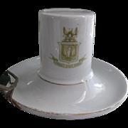 Early 1900s Porcelain Danish Match Box Holder