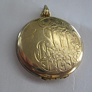 Pretty Vintage Gold Filled Locket