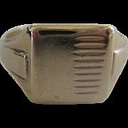 Vintage 9ct Gold Man's Signet Ring