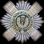 Outstanding Vintage Scottish Badge