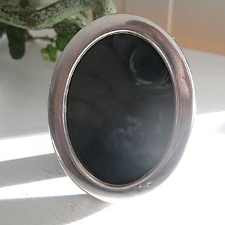 Pretty Small English Hallmarked Silver Photo Frame 1983