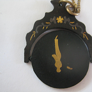 CORRECTION: Unique Victorian Spinning Pendant