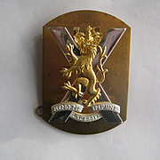 Scottish Military Badge - Nemo Me Impune Lacessit
