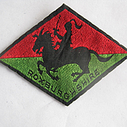 Vintage Roxburghshire Regimental patch