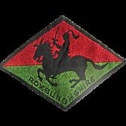 Vintage Roxburghshire Regimental patch
