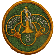 American Military Patch BRAVE RIFLES