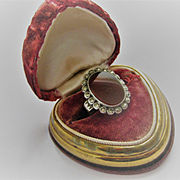 Vintage Carnelian and Marcasite Ring, Size 5.25