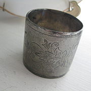 Very old Quadruple Plate Napkin Ring