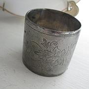 Very old Quadruple Plate Napkin Ring