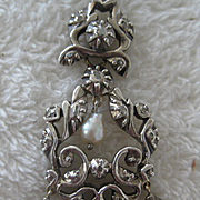 Beautiful Georgian Pendant with Diamonds