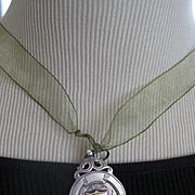 English Hallmarked Silver Medal c1929