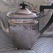 Vintage English Elkington Silver Plate Coffee Pot