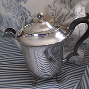 early Vintage English S. Plate Coffee Pot