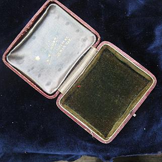 Early 1900s COLWYN BAY Ireland, Jewelry Case