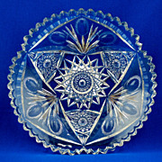 Libbey American Brilliant Period Cut Glass Bowl - 19th C