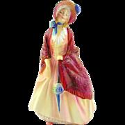 Royal Doulton  Porcelain Figurine- Paisley Shawl
