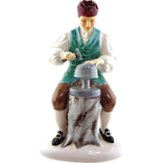 Royal Doulton  Porcelain Figurine- Silversmith of Williamsburg