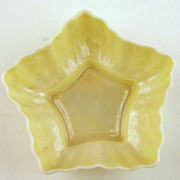 Irish Belleek  Star Salt Cellar-4th Mark