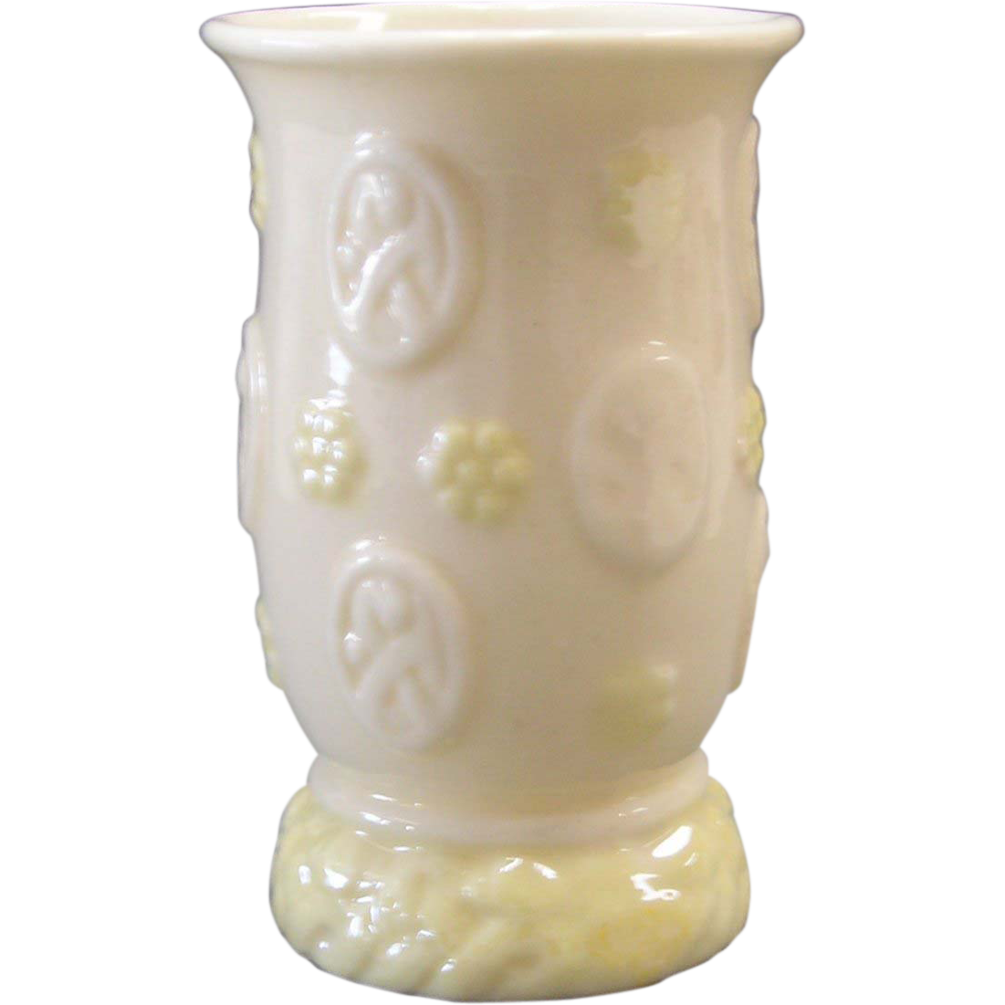 Irish Belleek  Erne Spill Vase-6th Mark