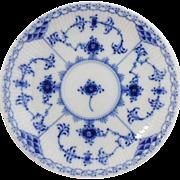 Royal Copenhagen Blue Fluted Half  Lace Saucer