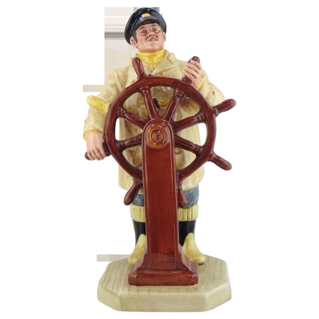 Royal Doulton  Porcelain Figurine- The Helmsman
