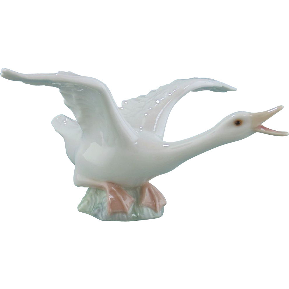 Lladro Figurine - Duck Running  #1263