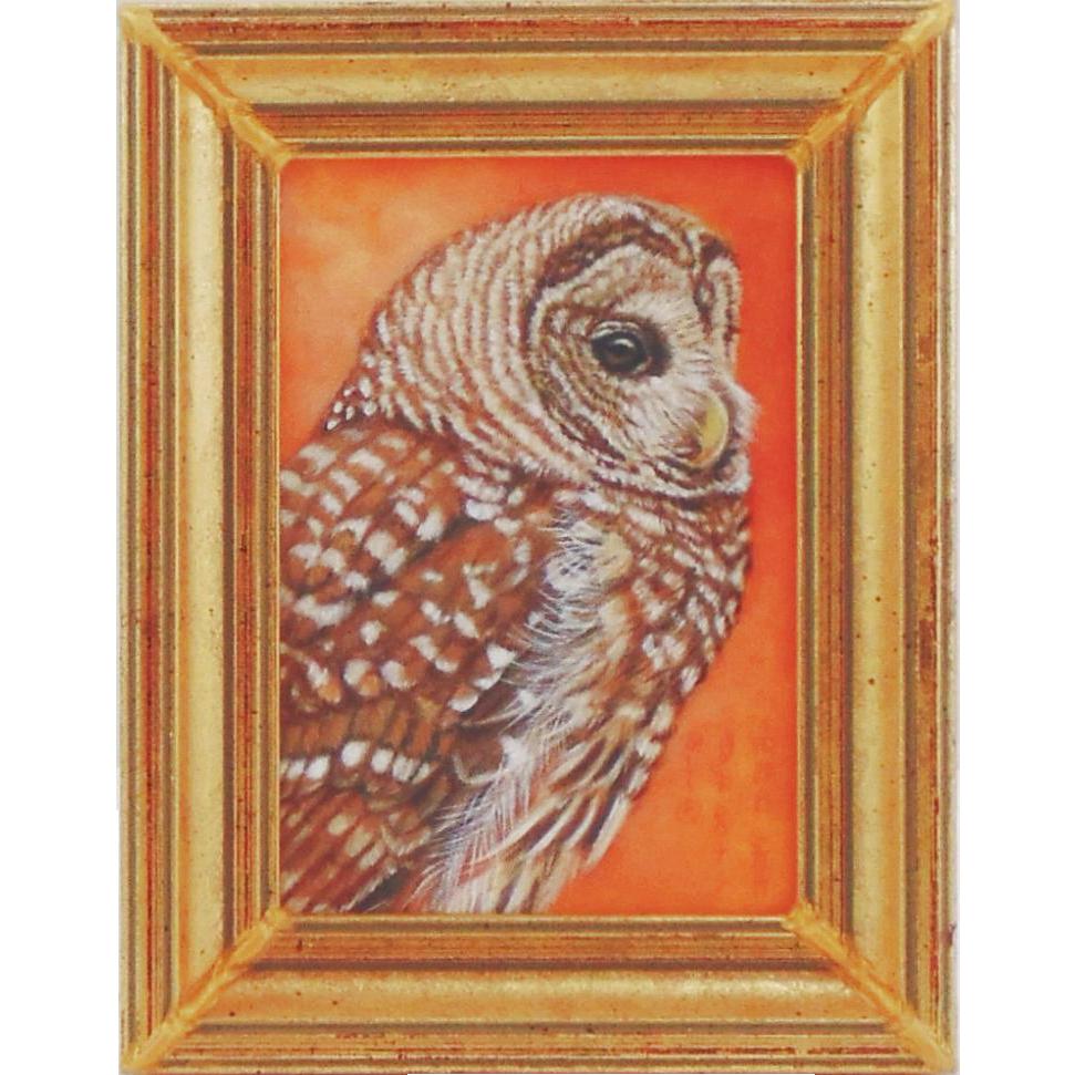 Original Oil Painting by Bev Abbott - Miniature