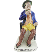 Antique Staffordshire Figurine- Tam O' Shanter