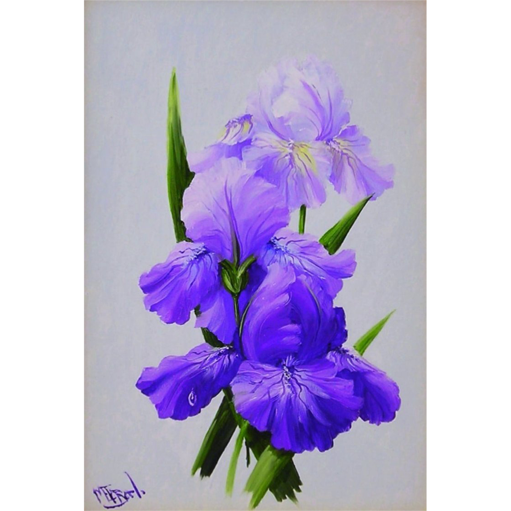 Amethyst Beauties-Original Oil Painting