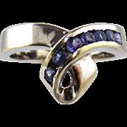 Tanzanite Ring 14kt White Gold