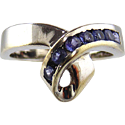 Tanzanite Ring 14kt White Gold