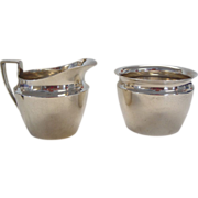 Tiffany Sterling Silver Sugar and Creamer