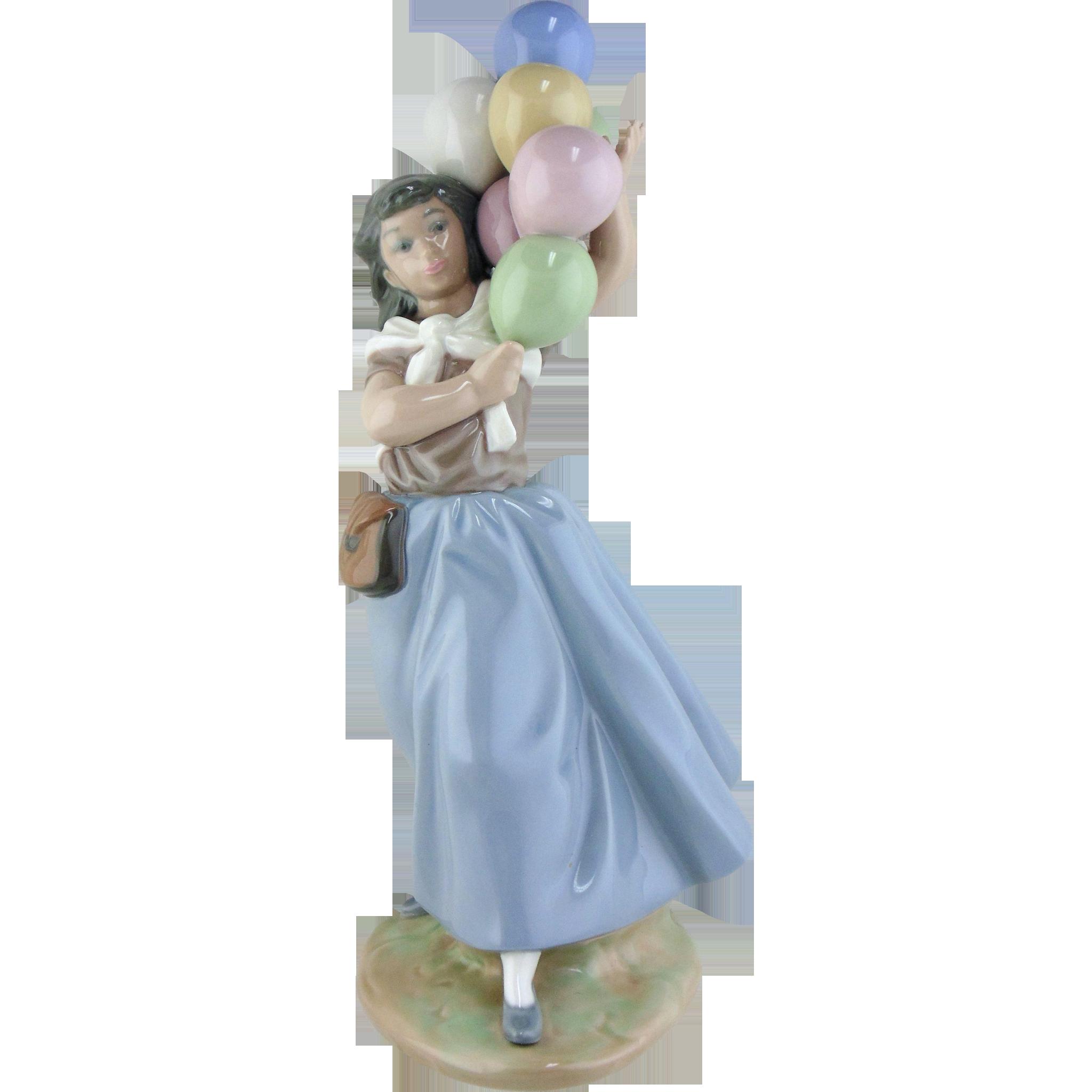 Lladro Figurine - Balloon Seller #5141