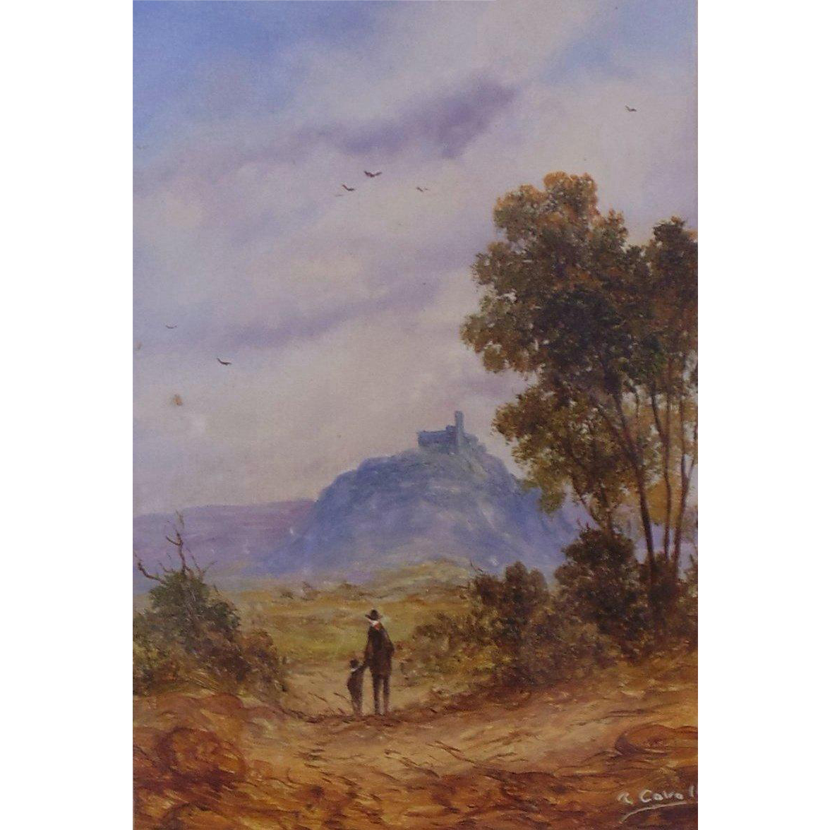 Original Oil Painting by Ron Cavalla, British - Listed Artist