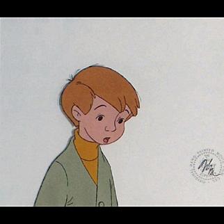 Christopher Robin by Walt Disney Studios - Production Animation Cel