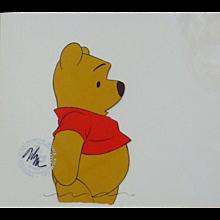 Winnie-the-Pooh by Walt Disney Studios - Production Animation Cel