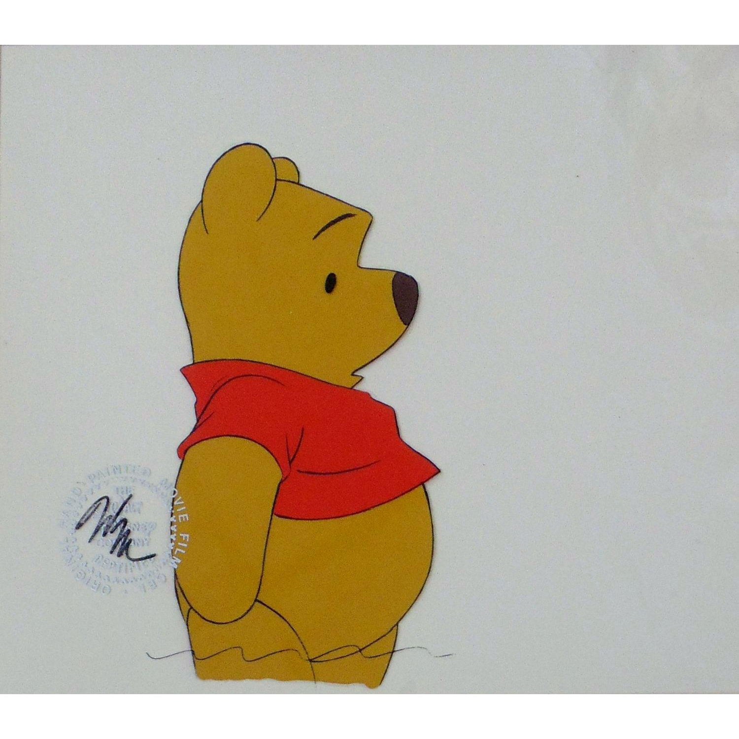 Winnie-the-Pooh by Walt Disney Studios - Production Animation Cel