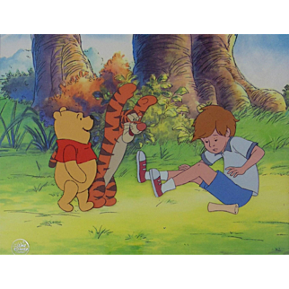 New Adventures of Winnie the Pooh by Walt Disney Studios-Production Animation Cel