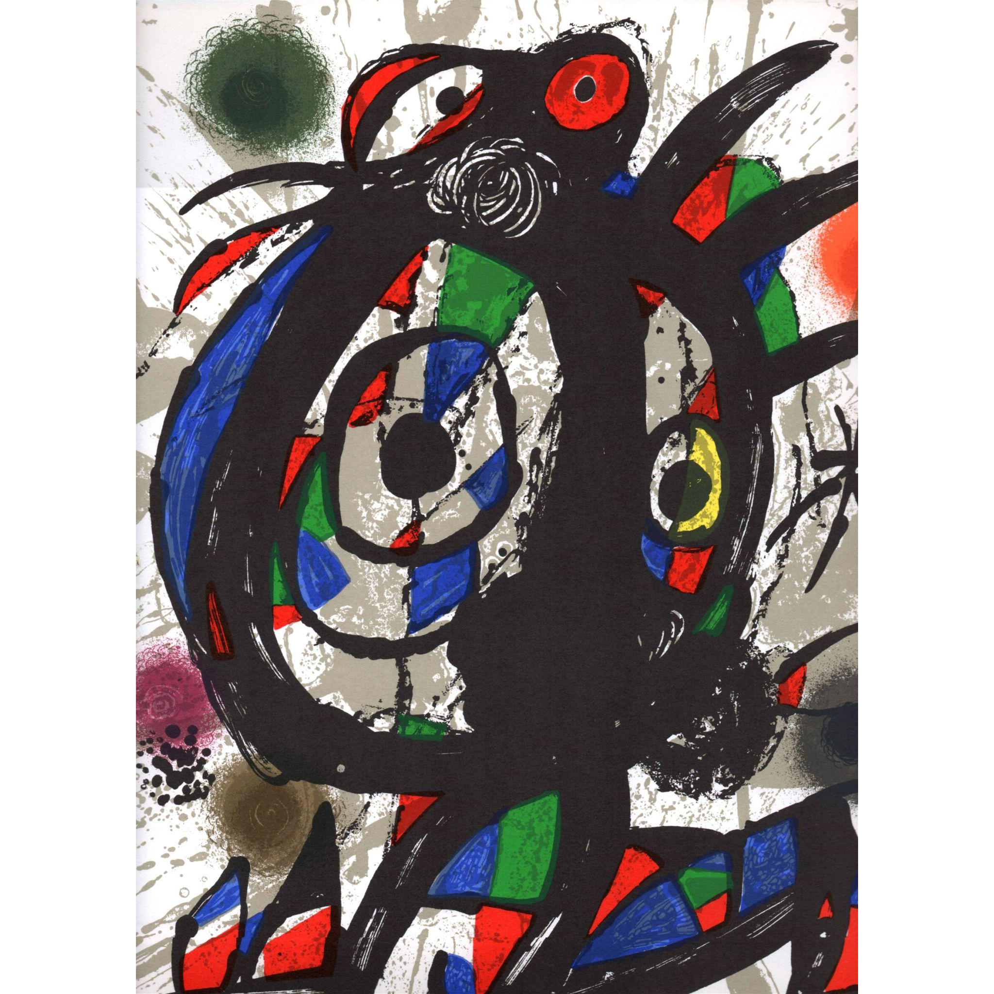 Lithograph #1 - Original Color Lithograph by Joan Miró  (Spanish: 1893-1983)