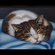 Sweet Surrender, Original Acrylic -Sue Wall