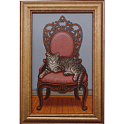 Queen of the House, Original Acrylic- Sue Wall
