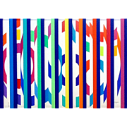 Festival Evening – Colors Grill by Yaacov Agam (Israel-b 1928)