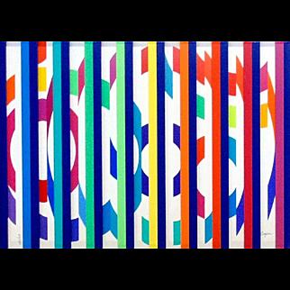 Festival Evening – Colors Grill by Yaacov Agam (Israel-b 1928)