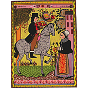 The Courtship-Serigraph by Louise August