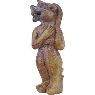 Chinese Hard Stone Mythical Creature