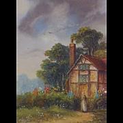Original Oil Painting by Ron Cavalla (British)